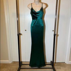 Emerald Green Dress | Maxi |